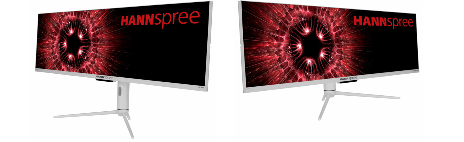 """The Hannspree HG440CFW is here with an UWFHD 43.8"""" display, 120Hz refresh rate"""