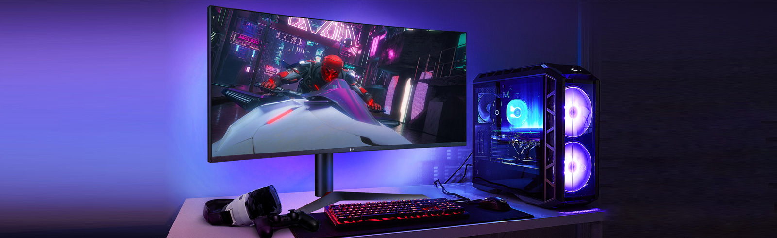 LG will unveil in South Korea the LG UltraGear 38GL950G gaming monitor with G-Sync on November 14