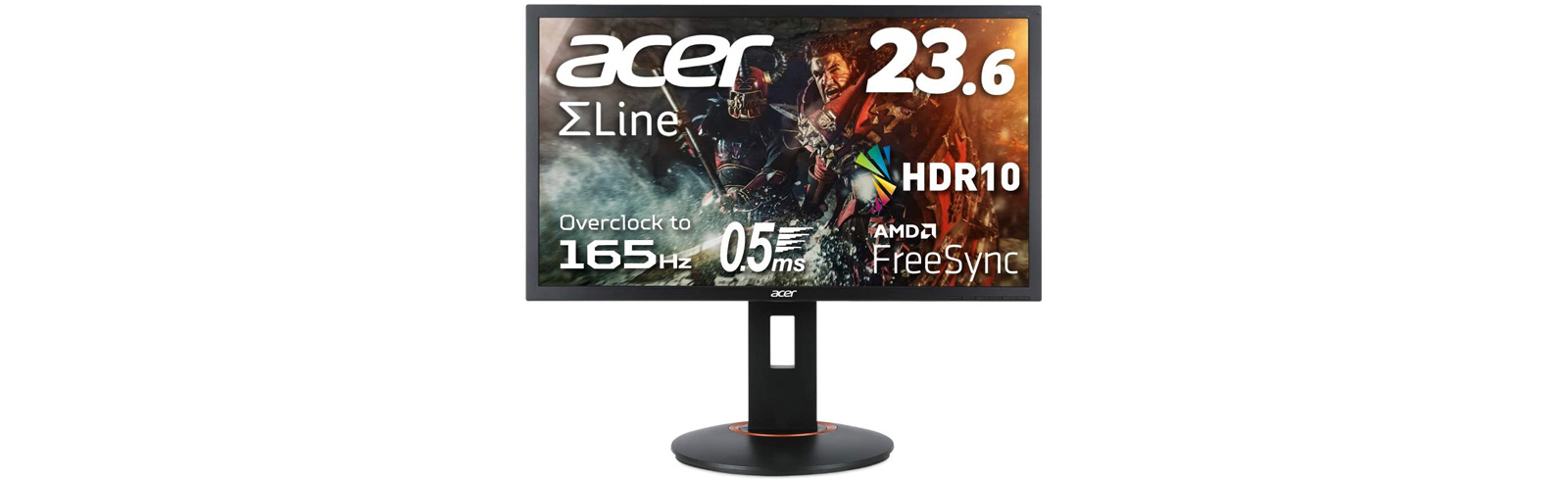 """Acer XF240Q Sbmiiprx is released with a 23.6"""" FHD TN display, 165Hz refresh rate"""