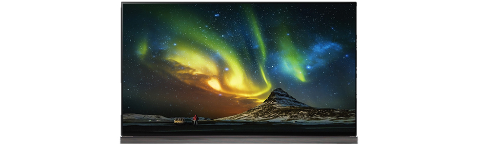 LG presented four new OLED TVs from its Signature series