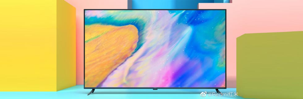 Redmi teases its first TV - a 70-inch 4K unit - with an official render