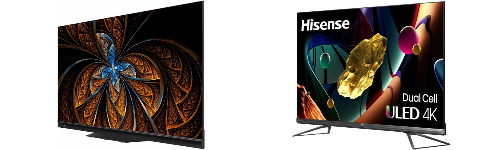 Hisense 75U9GQ and Hisense 65U9GQ comprise the U9G Mini LED 4K TV series in Europe