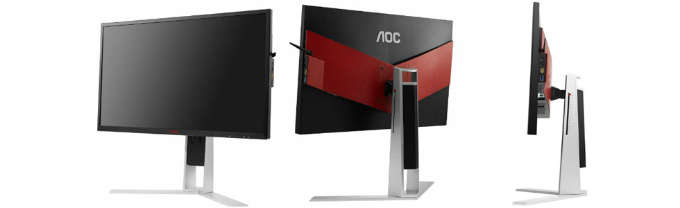 AGON gaming monitors by AOC are on their way to the market