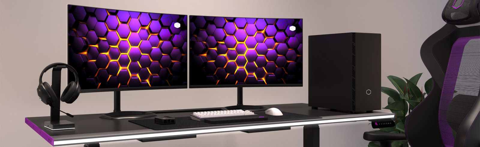 Cooler Master presents the GM32-FQ, GM32-CQ, GM27-FQ ARGB and the GM27-FF gaming monitors