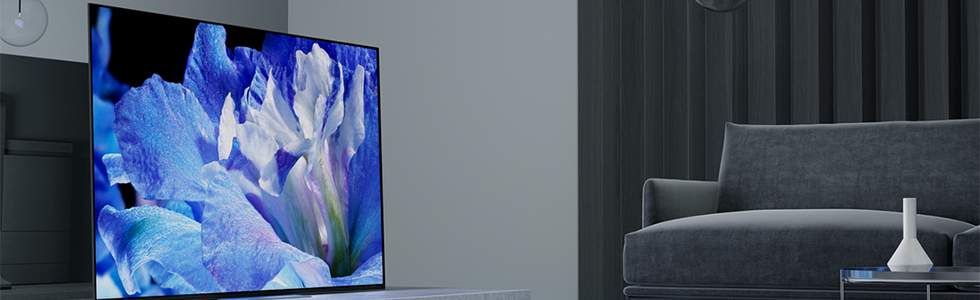 Sony announces the A8F series of 4K OLED TVs with HDR and Dolby Vision