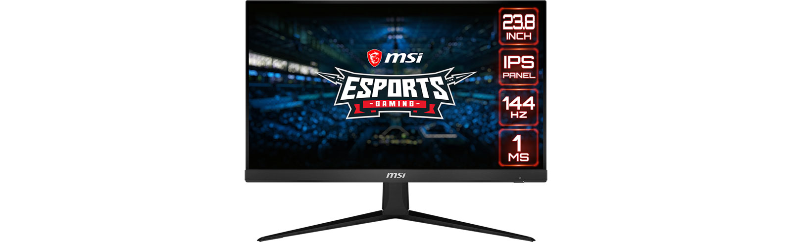 MSI G271 and MSI G241 eSports monitors go official