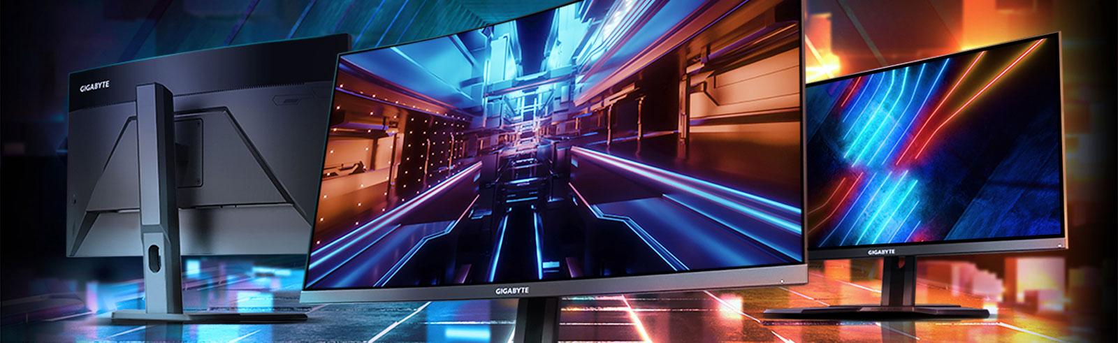 Gigabyte G27F, G27QC and G32QC gaming monitors announced