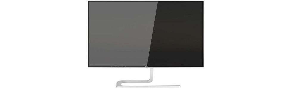 "AOC unveiled a new 27"" monitor from its Style-line series"