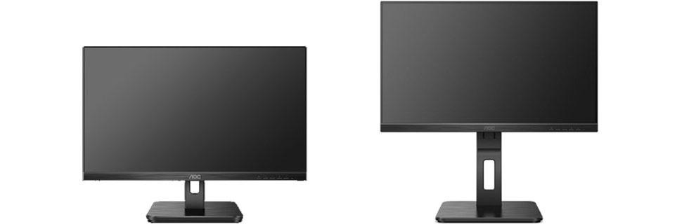 AOC unveils the E2H and P2U series of desktop monitors