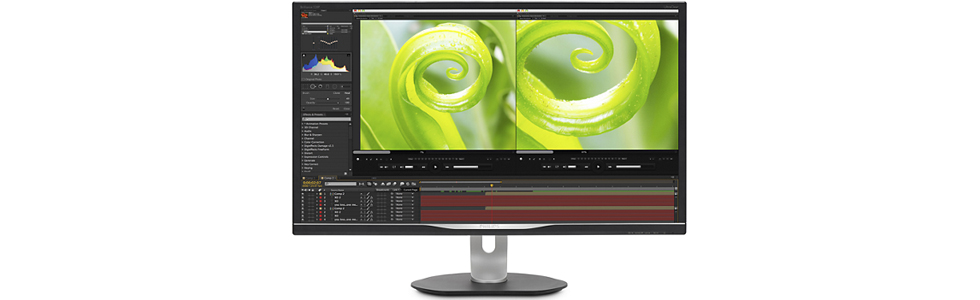 Philips unveiled a new 4K monitor with UltraColor - 328P6VJEB