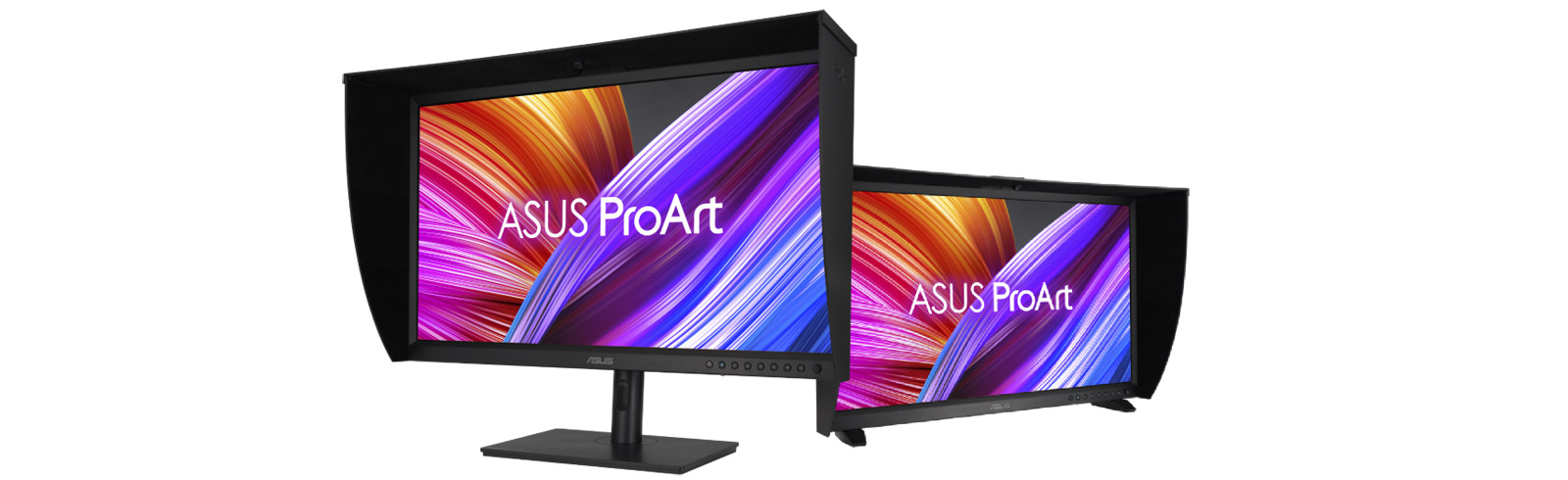 The Asus OLED PA32DC ProArt Display - the world's first OLED monitor with an integrated calibrator