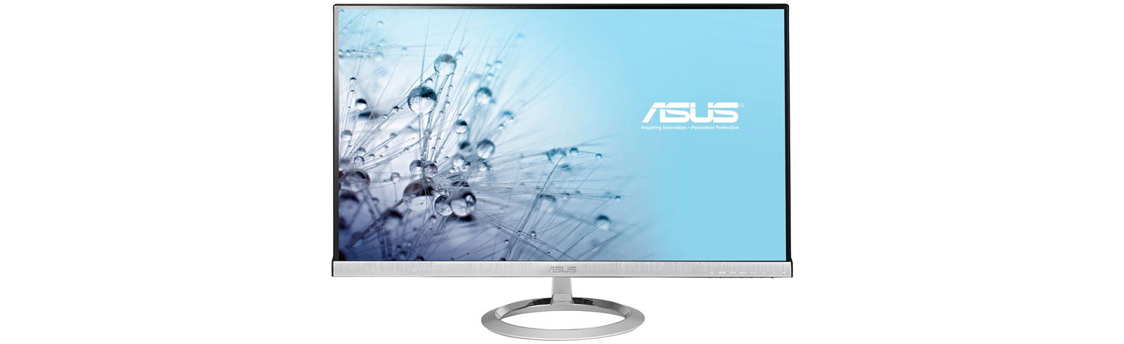 "Asus unveils two Designo MX desktop monitors with 25"" and 27"" diagonal size, respectively"