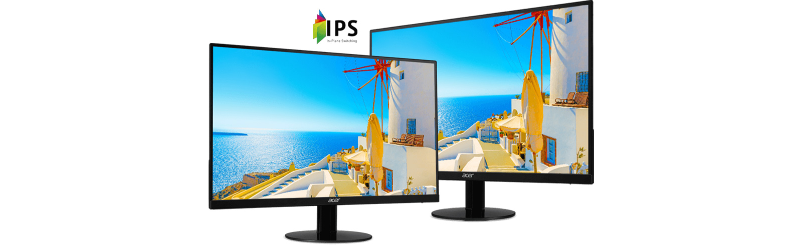 Acer SB240Y Bbix, SB240Y Bbmix, and SB220Qbi mark the launch of the Acer SB0 series of monitors