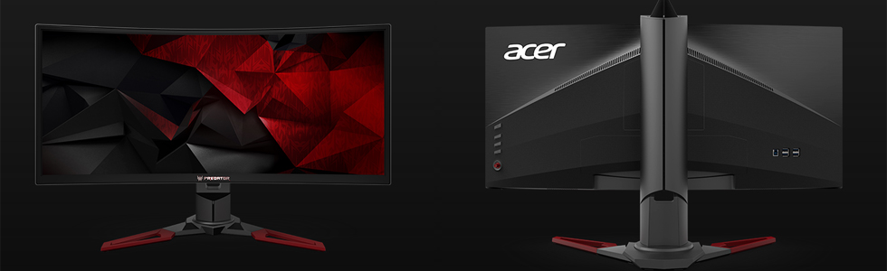 Acer presented three Predator gaming monitors - the Z271T, XB251HQT, and XB271HUT