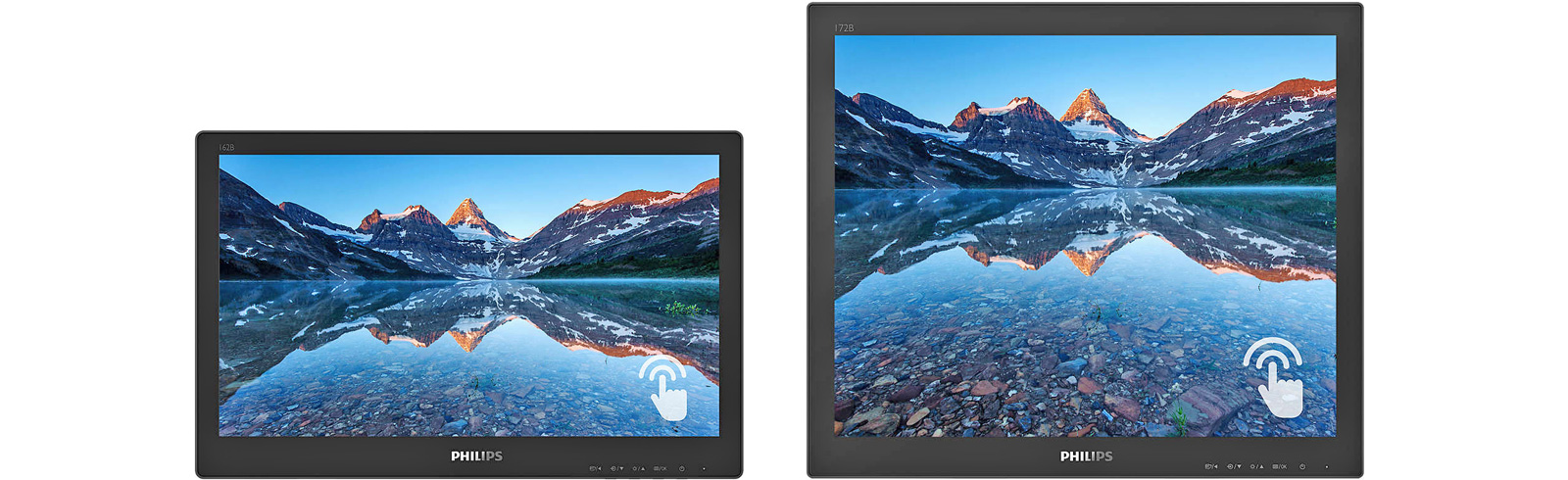 Philips has released the 2B9TN series of touch-display monitors