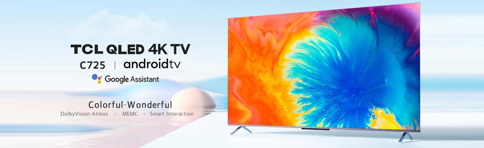 The new TCL C725 4K QLED TV with HDMI 2.1 ports is unveiled