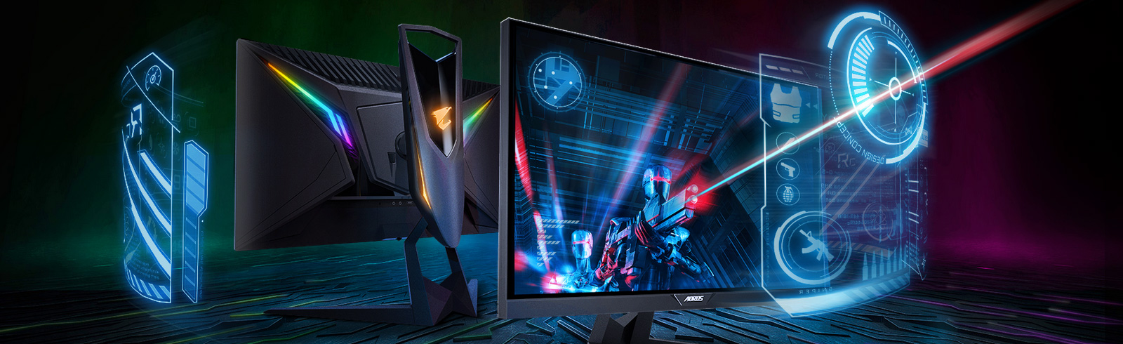 Gigabyte announces yet another AORUS gaming monitor - the AORUS KD25F with 240Hz refresh rate