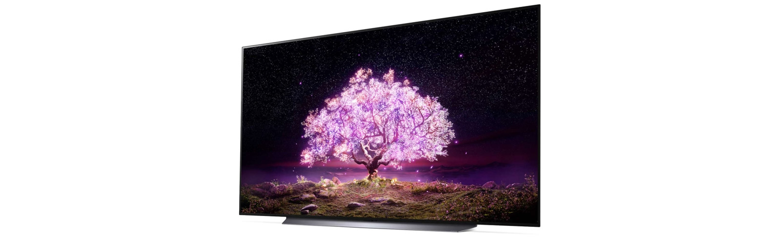 """The LG OLED83C1PUA specifications - LG's first 83"""" OLED TV from the 2021 C1 series is listed"""