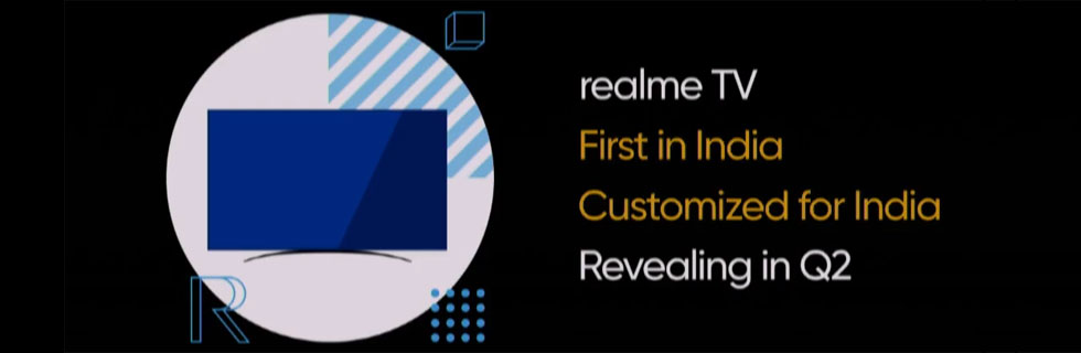 Realme will announce its first TV in Q2