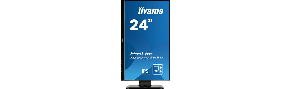 "iiyama launches the ProLite XUB2492HSU and XUB2492HSU with a 23.8"" FHD display"