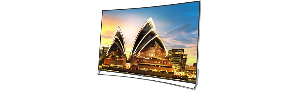 Hisense showcases the 65XT910 ULED TV at the IFA show in Berlin