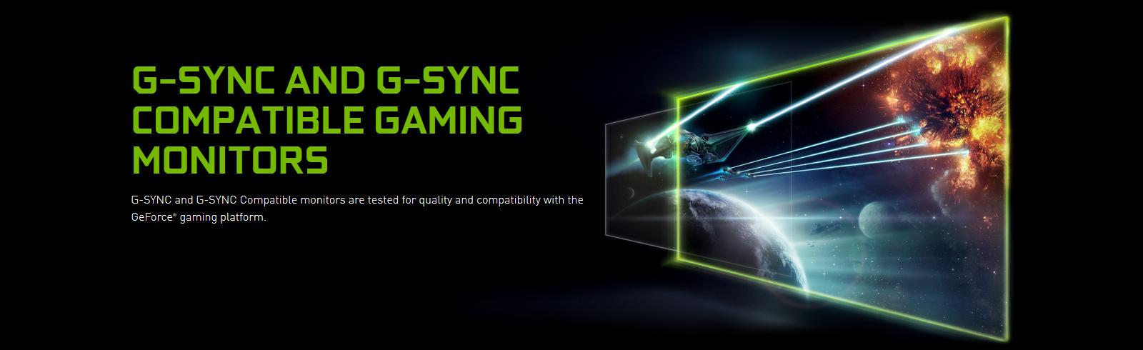 The new Nvidia G-SYNC compatible monitors are MSI MAG251RX, Dell AW5520QF, Nitro XV272U P