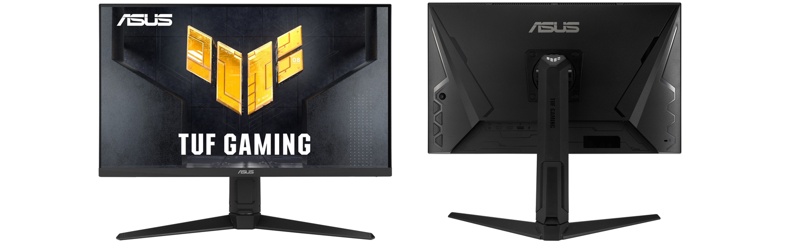 The Asus TUF Gaming VG28UQL1A with a 4K Fast IPS display and 144Hz refresh rate will