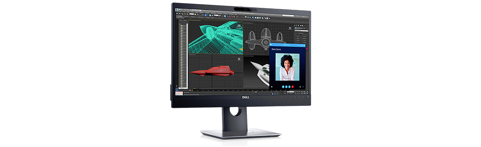 "Dell outs the P2418HZ and P2418HT - two 24"" monitors designed for video conferencing and streamlined multitasking"