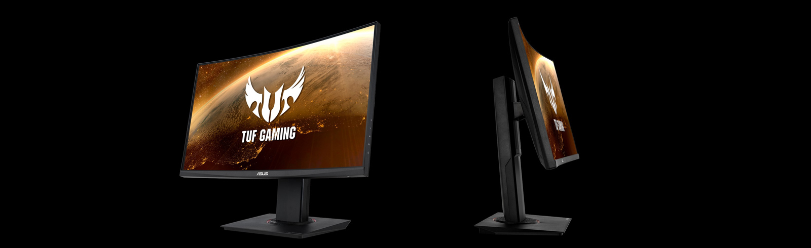 Asus launches a new TUF Gaming monitor with a 144Hz curved VA panel - the Asus VG24VQ