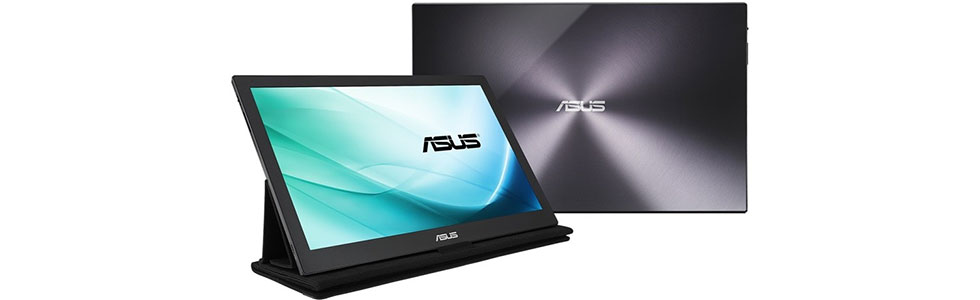 """Asus unveiled the first 15.6"""" portable monitor with a USB Type-C port"""