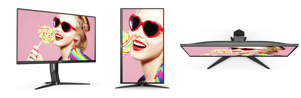 """The AOC U28G2U with a 28"""" 4K IPS display goes official"""