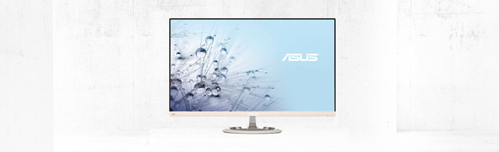 A new 4K Asus desktop monitor from its Designo Eye Care series is announced