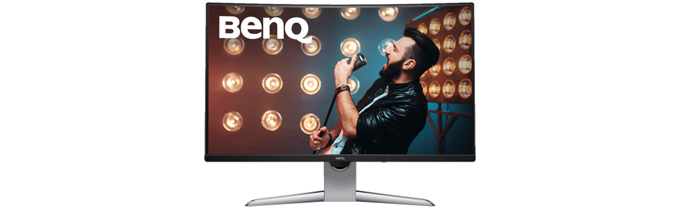 BenQ announces the 32-inch QHD EX3203R monitor for immersive gaming