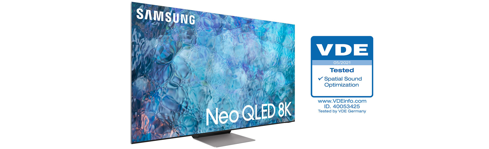 Samsung Neo QLED TVs receive Spatial Sound Optimization Certification from VDE