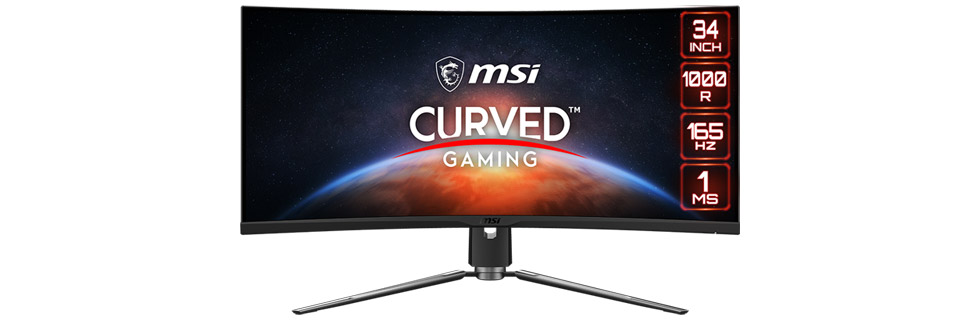 """The MSI MPG ARTYMIS 343CQR goes official with a 34"""" curved VA panel, 165Hz refresh rate"""