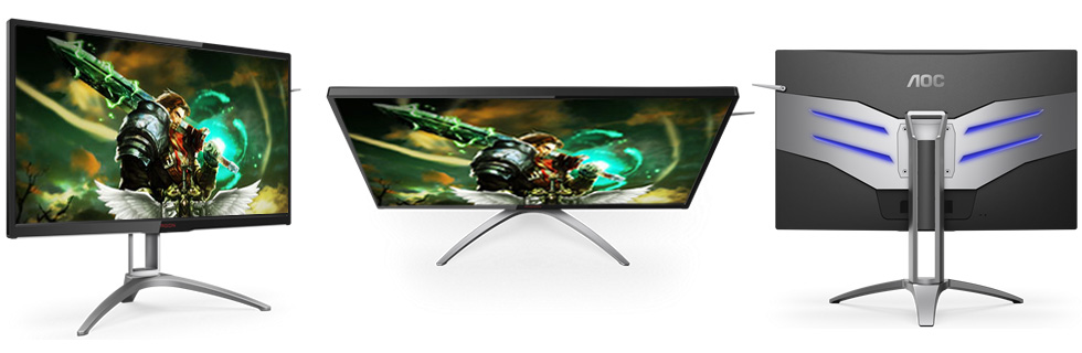 """The AOC AG322QX with a 27"""" QHD IPS display and 165Hz refresh rate goes official"""