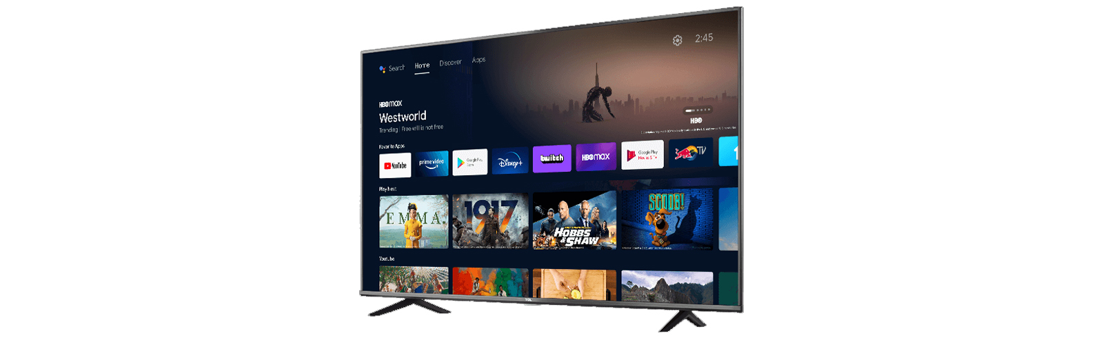 The first model from the TCL S430 series (TCL 70S430) is launched in the USA