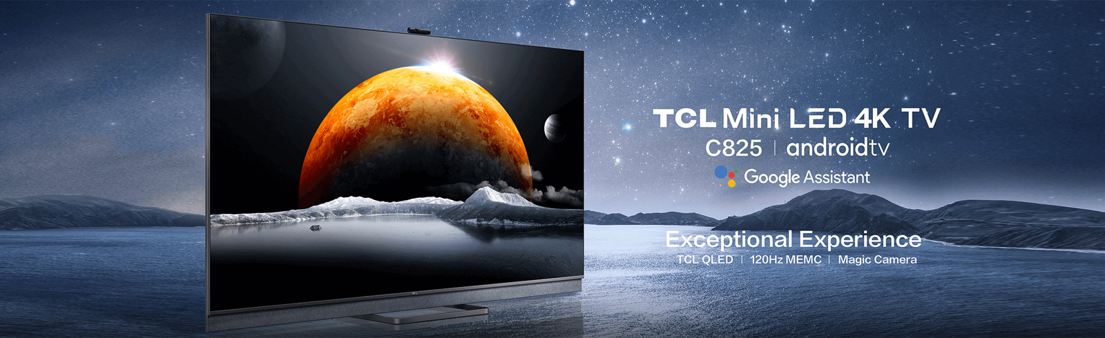 2021 TCL C825 Mini LED TVs - specifications and features