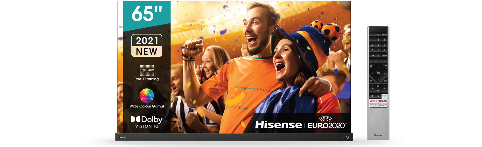 2021 Hisense A9G OLED 4K TVs for Europe - specifications and features