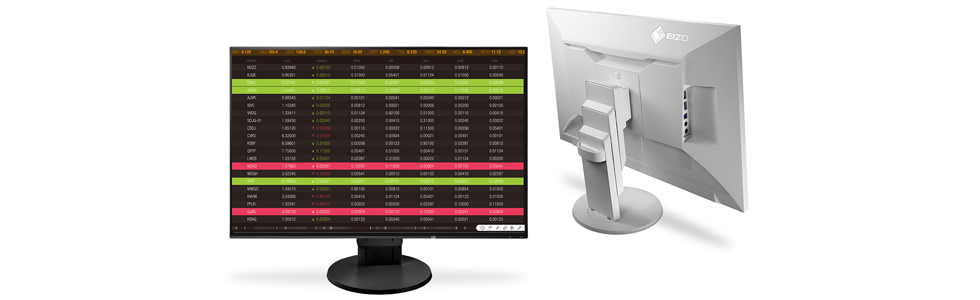 Eizo launches two ultra-slim and fully flat FlexScan monitors for business environments