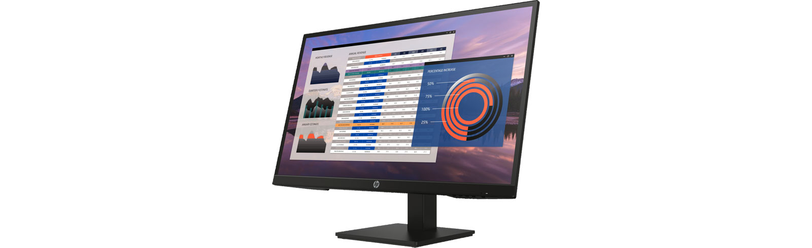 "HP releases the 27"" P27h G4 desktop monitor"
