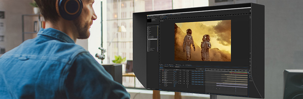 """ViewSonic unveils its 2021 monitors, including the 32"""" 8K VP3286-8K and the 4K ViewSonic XG321UG with Mini-LED"""