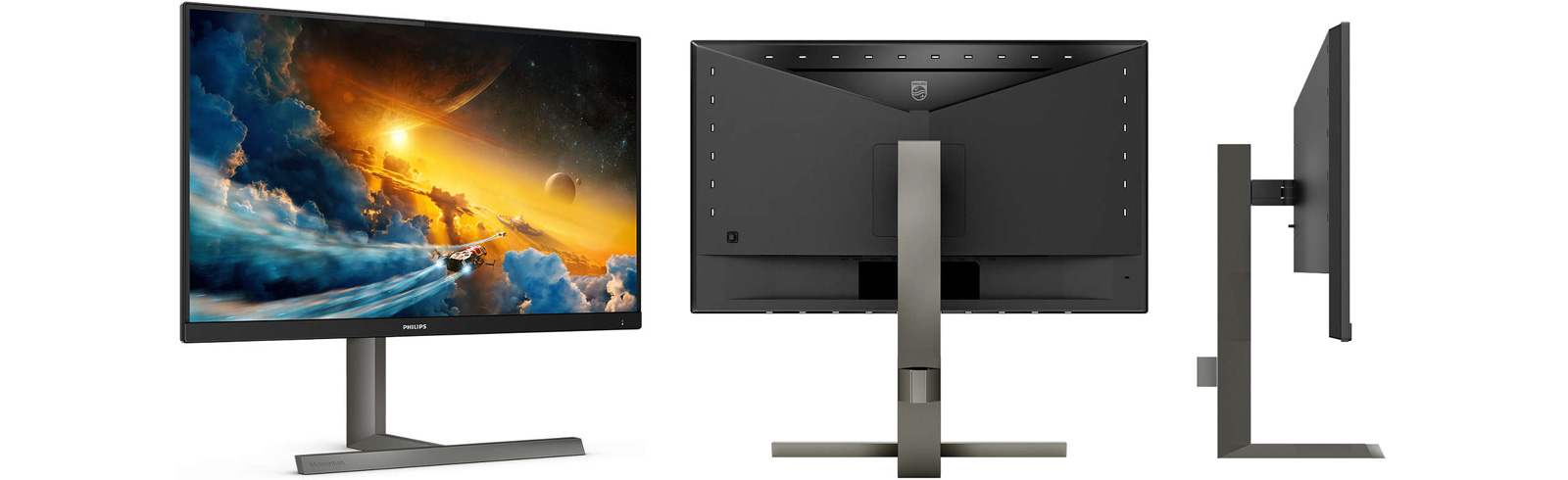 The Philips 275M1RZ monitors is the latest model from the Momentum series for console gaming