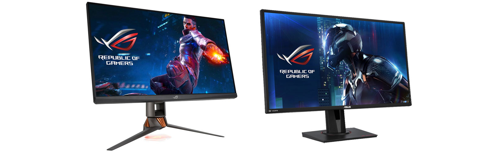 Asus takes the wraps off two WQHD ROG Swift gaming monitors