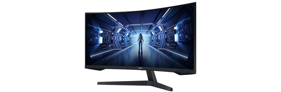 The Samsung C34G55T from the Odyssey G5 gaming series appears online