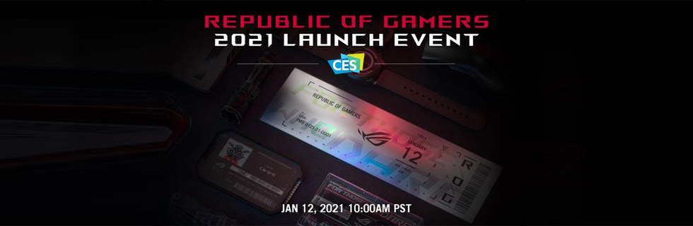The Asus ROG brand teases HDMI 2.1 monitors, will unveil them tomorrow - January 12