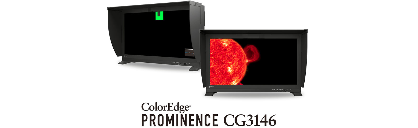 Eizo ColorEdge Prominence CG3146 is the world's first true HDR reference monitor with built-in calibration sensor