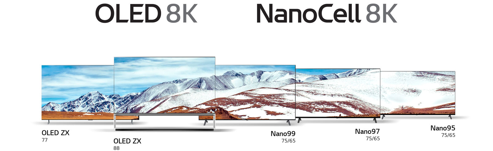 LG is expanding its 8K TV range - specifications, prices and availability