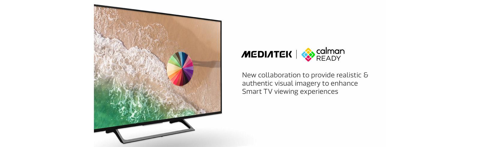 MediaTek and Portrait Displays collaborate on color calibration technologies in Smart TVs