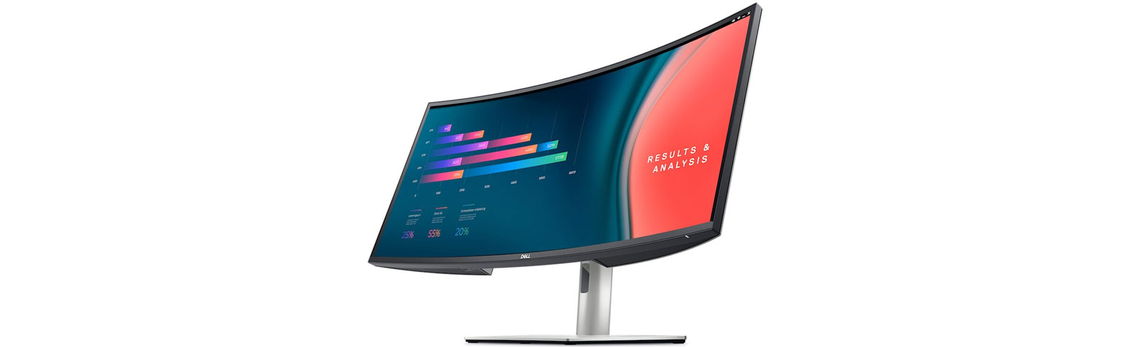 """The 34"""" Dell U3421WE UltraSharp monitor is announced with a WQHD resolution and 1900R curve"""